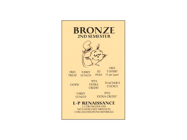 bronze card