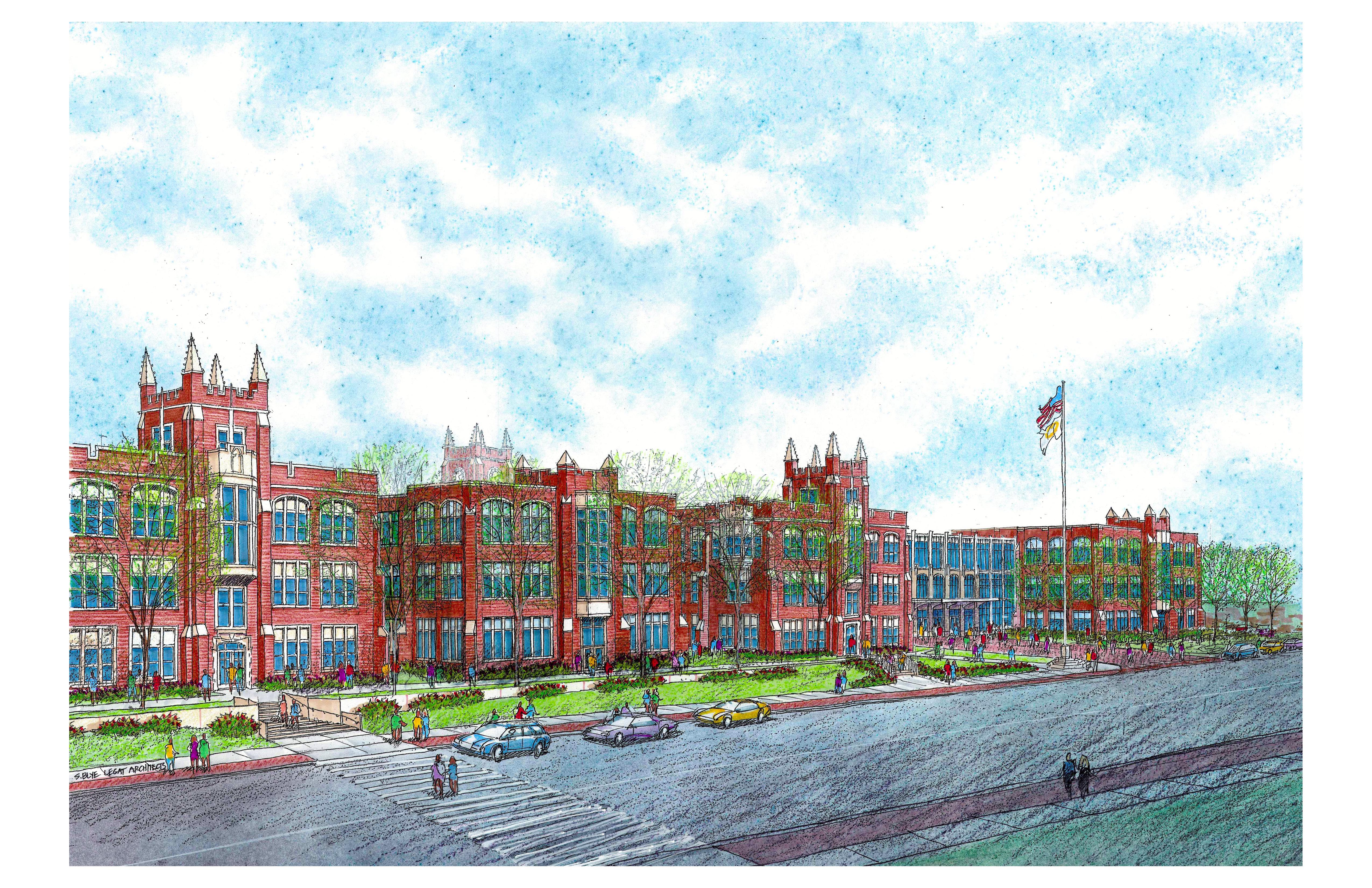 Southern rendering of LP Campuss