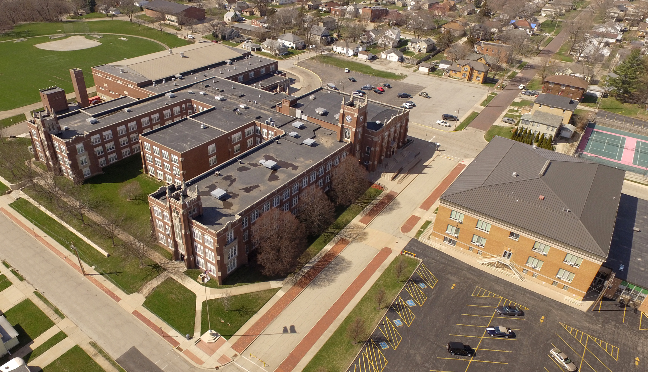 Aerial Photo of LPHS.