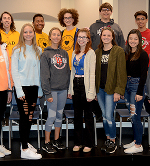 Photo of ILMEA 2019 District-level performers.