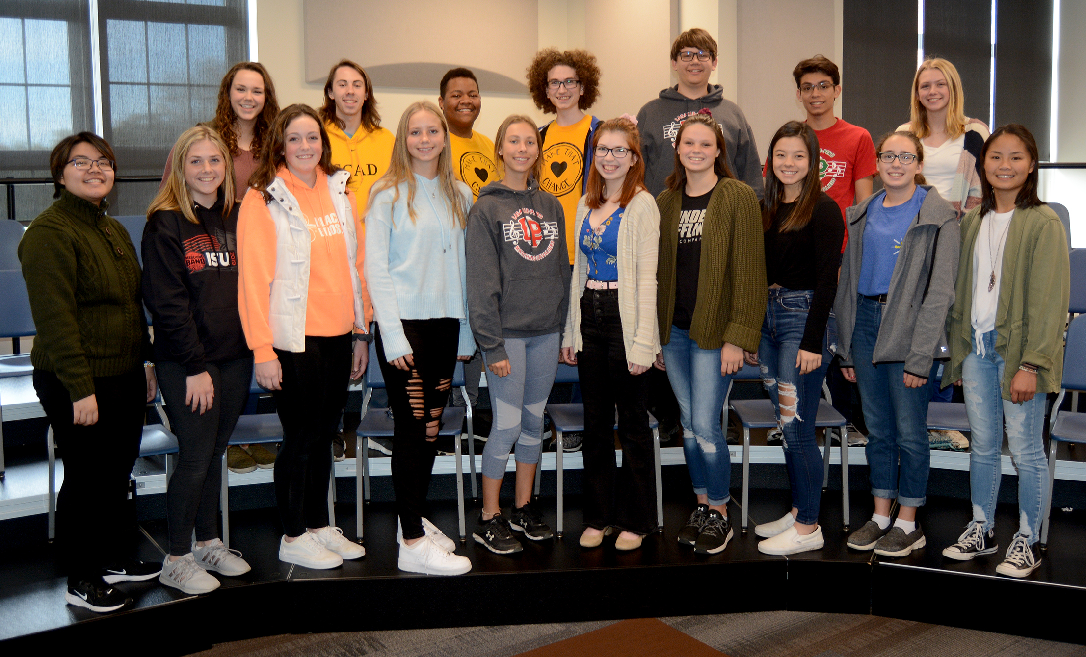 Students selected for ILMEA District Festivals.