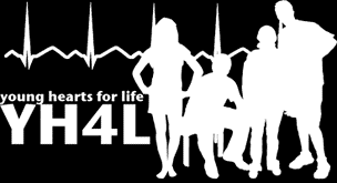 Young Hearts For Life logo.
