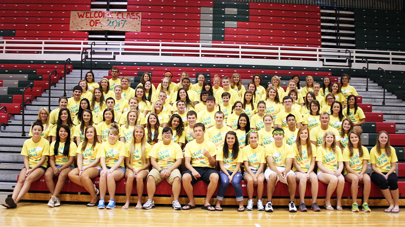 Link Crew group photo, Fall 2013