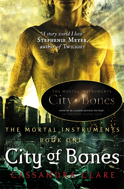 Books and Kats: Book Review: City of Bones by Cassandra Clare