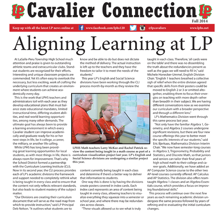 Cavalier Connection Page1